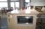 535 SW Cardinal Street, Depoe Bay, OR 97341 - Kitchen island w/microwave