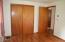 245 NE Edgecliff Drive, Waldport, OR 97394 - master bedroom closet