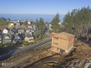 2545 SW Coral Ave, Lincoln City, OR 97367 - Aerial to North