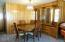 36450 Big Trout Rd, Hebo, OR 97122 - Dining area with built in hutch