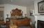 335 SW Cliff Street, Depoe Bay, OR 97341 - Master bedroom suite w/fireplace