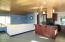 6820 NE Neptune Dr, Lincoln City, OR 97367 - Island and stairs down
