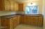 2523 NW Oar Ave, Lincoln City, OR 97367 - Kitchen with pine cabinets