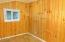 2523 NW Oar Ave, Lincoln City, OR 97367 - Bedroom with pine paneling