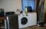 2013 NW Mackey Street, Waldport, OR 97394 - Washer and dryer in garage