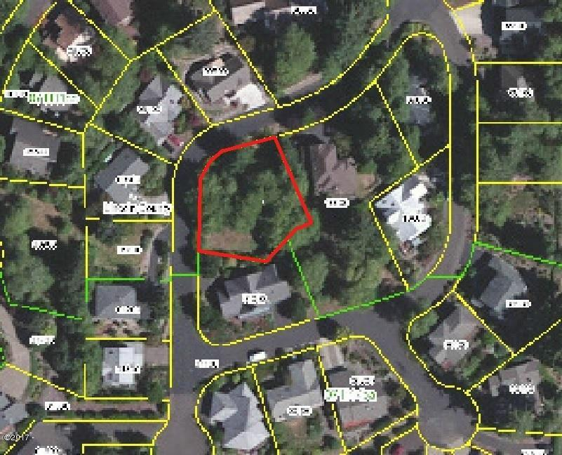 1200 BLK Ne Lakewood Drive, Lincoln City, OR 97367 - Aerial