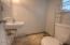 664 SE 2nd St, Toledo, OR 97391 - lower level bath