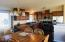 11491 NW Thompson St, Seal Rock, OR 97376 - Dining Room and Kitchen