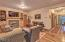 543 N Bayview Ct, Waldport, OR 97498 - Living Room With Built Ins & Fireplace