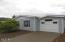 3443 NE Coos St, Newport, OR 97365 - Right side & garage