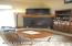 2308 NE 36th Dr, Lincoln City, OR 97367 - Living room with gad fireplace