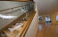 11244 NW Pacific Coast Hwy, Seal Rock, OR 97376 - Etched Glass Stairway Rail