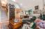 8385 NE Ridgecrest Ct, Otis, OR 97368 - Living Room/Stairs to Loft