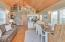 1888 NE 58th St., Lincoln City, OR 97367 - Great Room with loft above