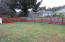 6716 SW Harbor Ave, Lincoln City, OR 97367 - Spacious fenced yard