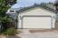824 SE Crescent Pl, Newport, OR 97365 - Deck area between garage and home.