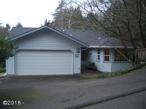 37 NE Spring Ave, Depoe Bay, OR 97341 - Entry Elevation