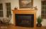 37 NE Spring Ave, Depoe Bay, OR 97341 - Gas Fireplace at Living Room
