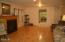 37 NE Spring Ave, Depoe Bay, OR 97341 - Living Room looking towards Kitchen
