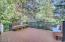 150 SW 61st St, Newport, OR 97366 - Timber tech Deck with Railing
