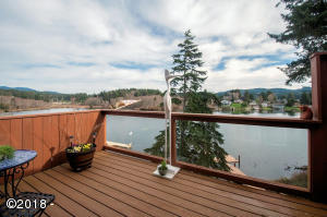 3690 NE West Devils Lake Rd, Lincoln City, OR 97367 - Deck - View 1