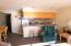 5201 SW Hwy 101, 406, Lincoln City, OR 97367 - View to kitchen seating bar