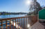 3792 NE West Devils Lake Rd., 4, Lincoln City, OR 97367 - Lake view balcony