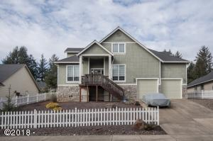 5779 NE Voyage Way, Lincoln City, OR 97367 - Front of Home