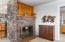 4618 SW Beach Ave, Lincoln City, OR 97367 - Wood Burning Fireplace