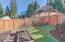 1445 NE Arcadia Dr, Toledo, OR 97391 - Privacy fence