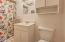 1445 NE Arcadia Dr, Toledo, OR 97391 - Lower level bath