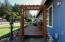 2032 SE Laurel St, Toledo, OR 97391 - Front deck with arbor