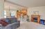 1140 SW Sailfish Lp, Waldport, OR 97394 - Family Room and Electric Fireplace