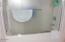 939 NW Highland Dr, Waldport, OR 97394 - tub/shower in upper bath