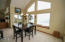 859 SW 8th St., Lincoln City, OR 97367 - Dining room and deck
