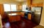 1498 SE 43rd St, Lincoln City, OR 97367 - Kitchen with hardwood & stainless steal