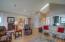 12220 NW Ocean Vista Ln, Seal Rock, OR 97376 - Livingroom Beautiful Hardwood Floors