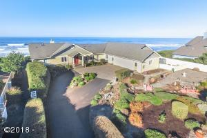 12220 NW Ocean Vista Ln, Seal Rock, OR 97376 - Aerial View From The Front