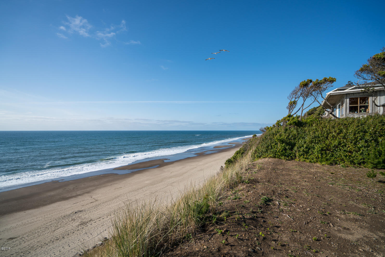 7265 Neptune, Gleneden Beach, OR 97388 - North view