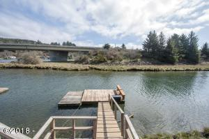 9290 Trout Pl., Gleneden Beach, OR 97388 - Private Dock