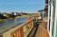 1110 NW Parker Ave, Waldport, OR 97394 - Deck w/Canal View & Sun Room