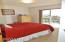 1110 NW Parker Ave, Waldport, OR 97394 - Bed Room w/Slider to Deck