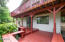 2137 NE Lake Dr, Lincoln City, OR 97367-4226 - Lower deck seating