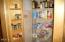 370 NE Williams Ave, Depoe Bay, OR 97341 - Kitchen pantry w/storage doors