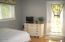 370 NE Williams Ave, Depoe Bay, OR 97341 - Bedroom #3 w/door to ocean view deck