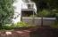 370 NE Williams Ave, Depoe Bay, OR 97341 - Side yard & deck at 3rd Bedroom