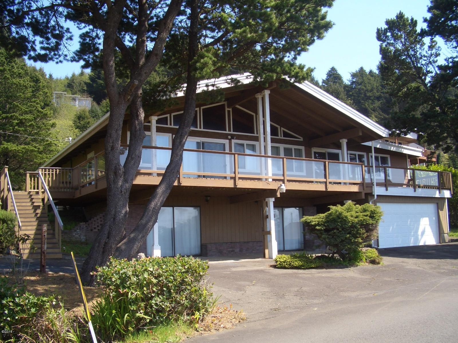 540 NE Williams Ave, Depoe Bay, OR 97341 - Ocean Facing Views!