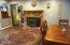 1184 NE Lake Drive, Lincoln City, OR 97367 - Dining-Fireplace
