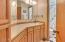 1276 NE Lakewood, Lincoln City, OR 97367 - Upper level guest bathroom