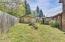 1622 N Nye St, Toledo, OR 97391 - back yard/shop